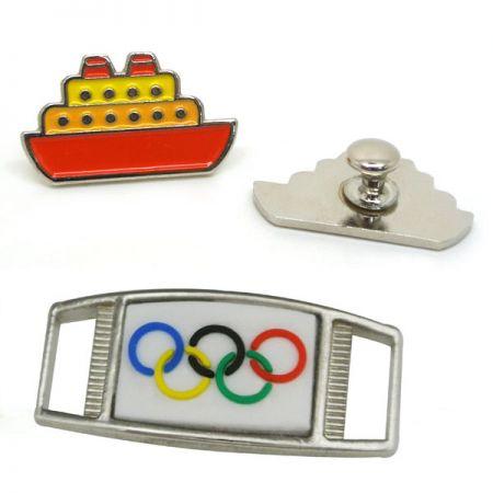 Shoe & Shoelace Charms - Custom Metal Charms