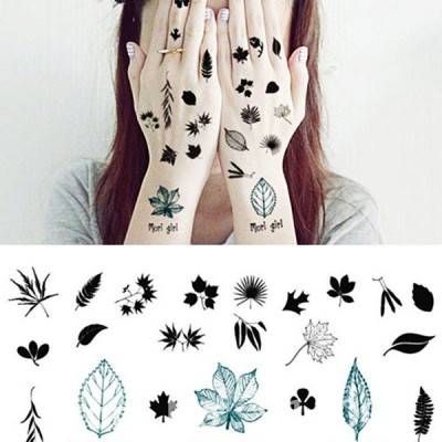 Custom Temporary Tattoo Stickers - Fashionable water transfer tattoo stickers