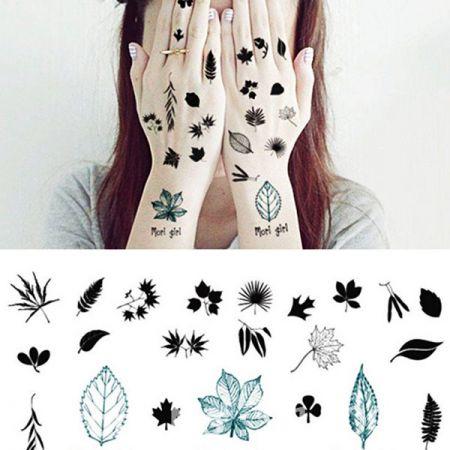 Custom Temporary Tattoo Stickers - Fashionable water transfer tattoo stickers