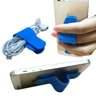 Silicone Mobile Phone Grip - multiple usage of mobile grips