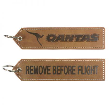 Leather Key Tags - leather key tags
