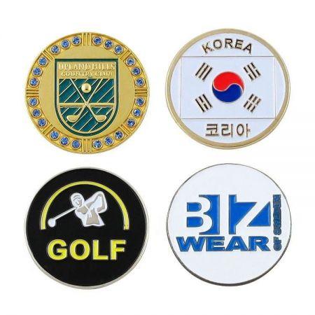 CUSTOM GOLF BALL MARKERS - Custom Golf Ball Markers