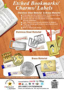 Custom Made Metal Bookmarks - Custom Made Metal Bookmarks