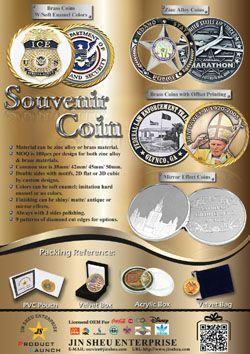 Custom Made Challenge Coins - Souvenir Coins