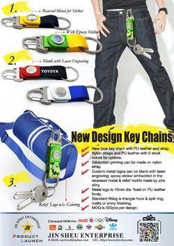 New Design Key Chains - New Design Key Chains