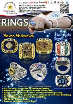 Rings - Sports Championship Rings