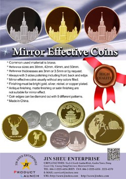 Mirror Effect Coins - Mirror Effect Coins