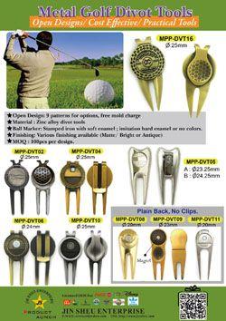 Metal Golf Divot Tools - Metal Golf Divot Tools