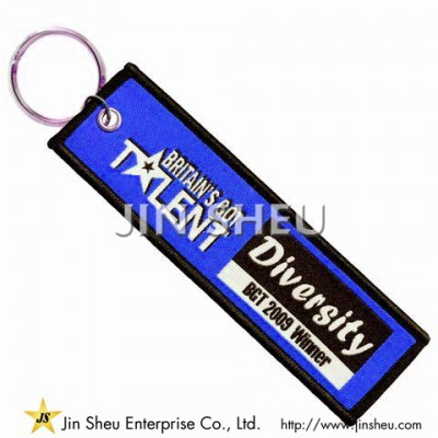 Promotional Woven Key Tags - Promotional Woven Key Tags