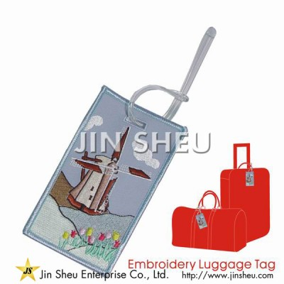 Customised Embroidery Luggage Tags - Customised Embroidery Luggage Tags