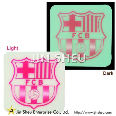 Silicone Glow in the Dark Coaster - Promotional Silicone Luminous Coasters