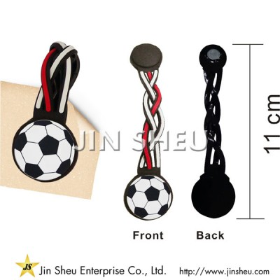 Promotional Braided Style PVC Magnetic Bookmark - Promotional Braided Style PVC Magnetic Bookmark