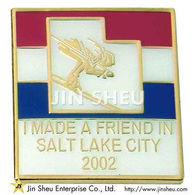 Soft Enamel badge
