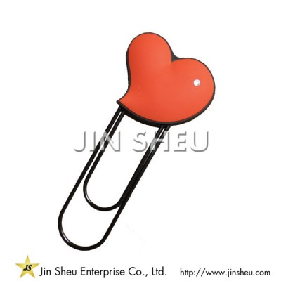 Heart Shaped Paper Clips - Heart Shaped Paper Clips