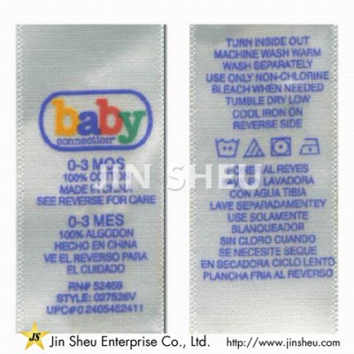 Clothing Woven Tags - Clothing Woven Tags