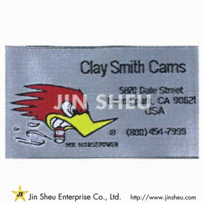 Woven Cloth Tags - Woven Cloth Tags