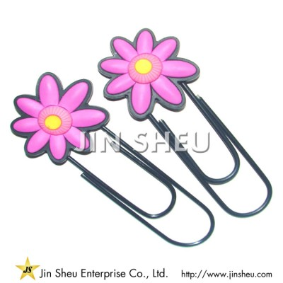 Flower Shaped Paper Clips - Flower Shaped Paper Clips