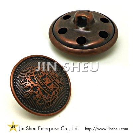 Metal Police Buttons - Metal Police Buttons