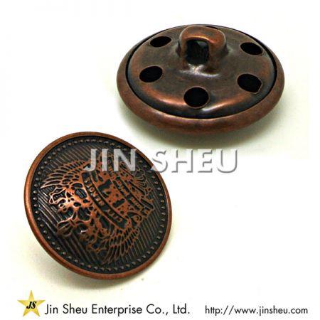 金属警察ボタン - 金属警察ボタン