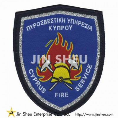 Custom Fire Department Patches - Woven Cloth Patches