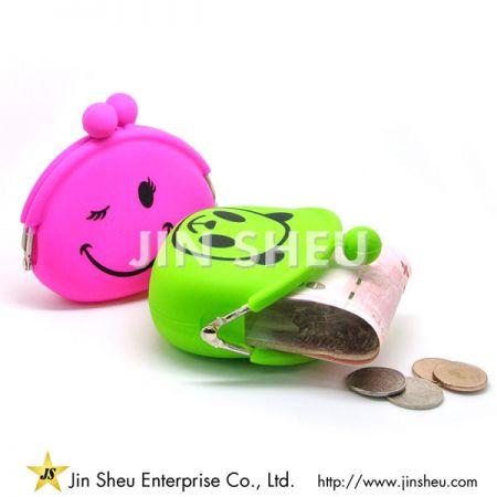 Silicone Coin Purse - coin pouch