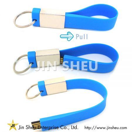 Correa USB de silicona - Correa USB de silicona