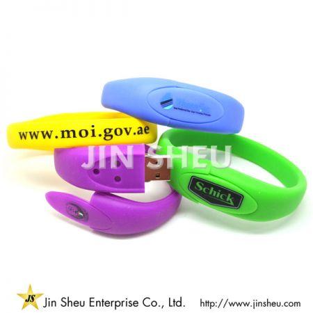 Promotional USB Flash Band - Promotional USB Flash Band