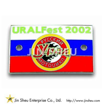 Customized Car Badges