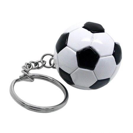 Soccer Ball Keychain - Sports Keychains