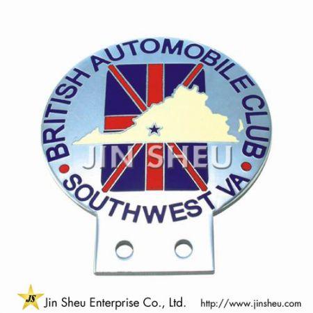 British Automobile Club Badge - British Automobile Club Badge