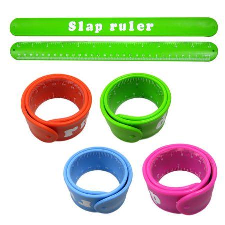 Colorful Slap Band Rulers - Colorful Slap Band Rulers