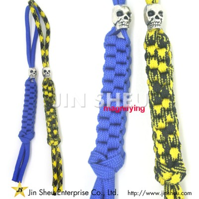 Paracord Straps with Charms - Paracord Straps with Charms