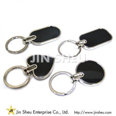 Classic Black Key Chains