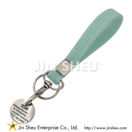 Custom Silicone Keyring - Custom Silicone Keyring