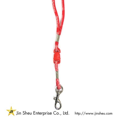 Round Cord Lanyard with Clip - cord lanyard