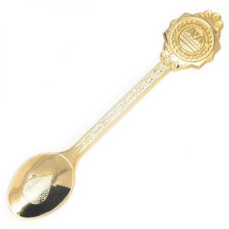 Gold Souvenir Spoons