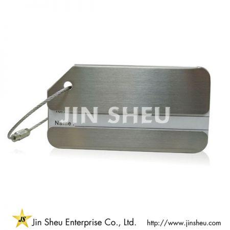 Metal Luggage Tag - Metal Luggage Tag