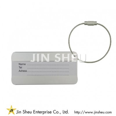 TAG-008 Personalized Luggage Tag - TAG-008 Personalized Luggage Tag