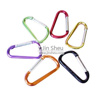 D-Shaped Carabiner Hooks - D-Shaped Aluminum Carabiner Hooks