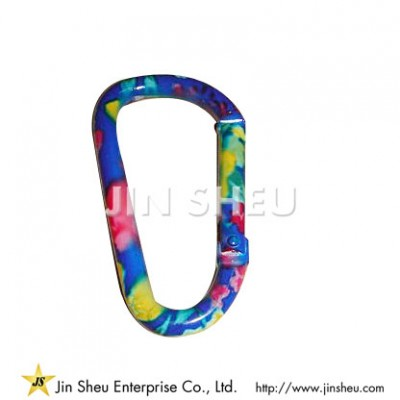 Customized Color Carabiner Clips
