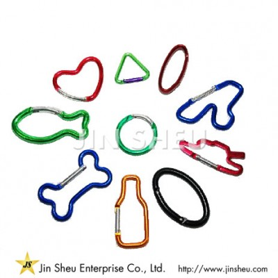 Custom Made Carabiner Clips