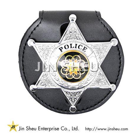 Belt Clip Badge Holder - Leather Badge Holders