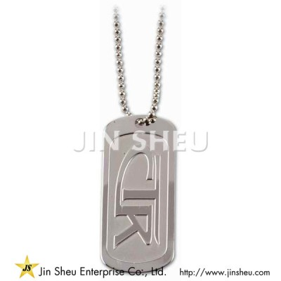 Personalized Metal Tag with Religious Theme - Personalized Logo Tags