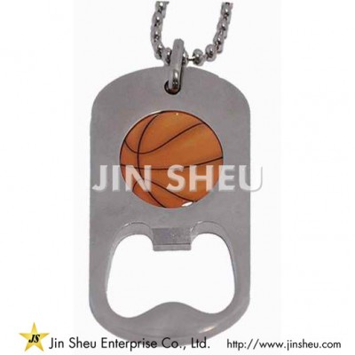 Custom Bottle Opener Dog Tag - Custom Bottle Opener Dog Tag