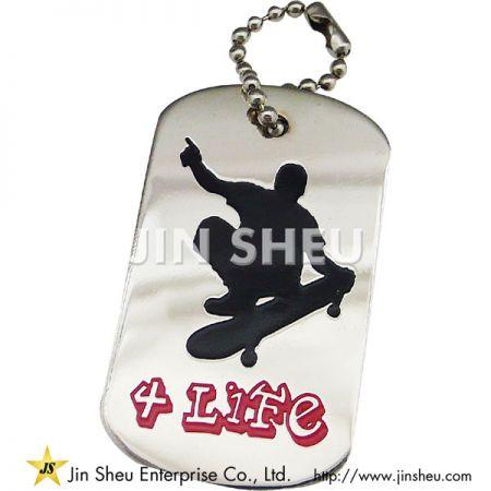 Hip Pop Themed Custom Dog Tag - Hip Hop Dog Tags