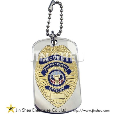 Security Enforcement Officer Dog Tag - Security Enforcement Officer Dog Tag