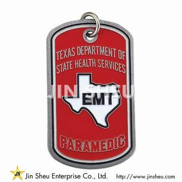Paramedic's Prayer Dog Tag - Paramedic Prayer Dog Tag
