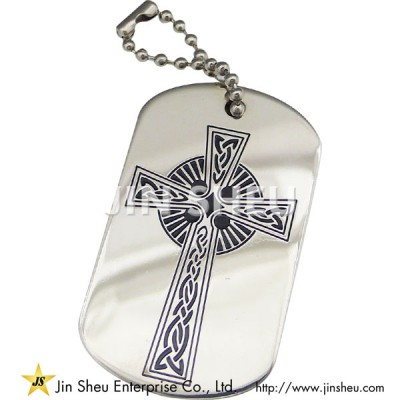 Celtic Cross Dog Tag - Celtic Cross Dog Tag