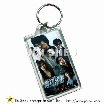 Customized Acrylic Photo Keychain