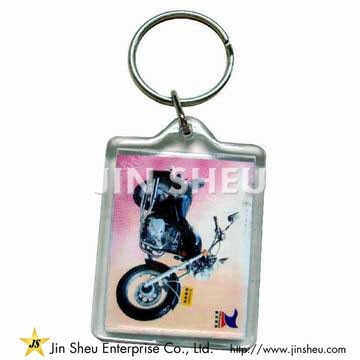 Fashion Acrylic Keychain